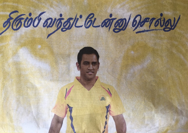Dhoni is back!!